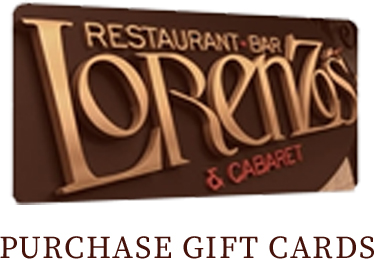 Purchase Lorenzo's Gift cards