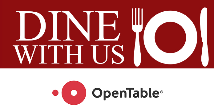 Make reservations on Open Table