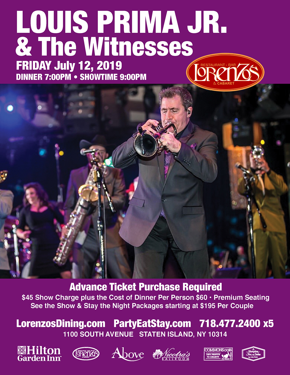 Louis Prima Jr. & The Witnesses