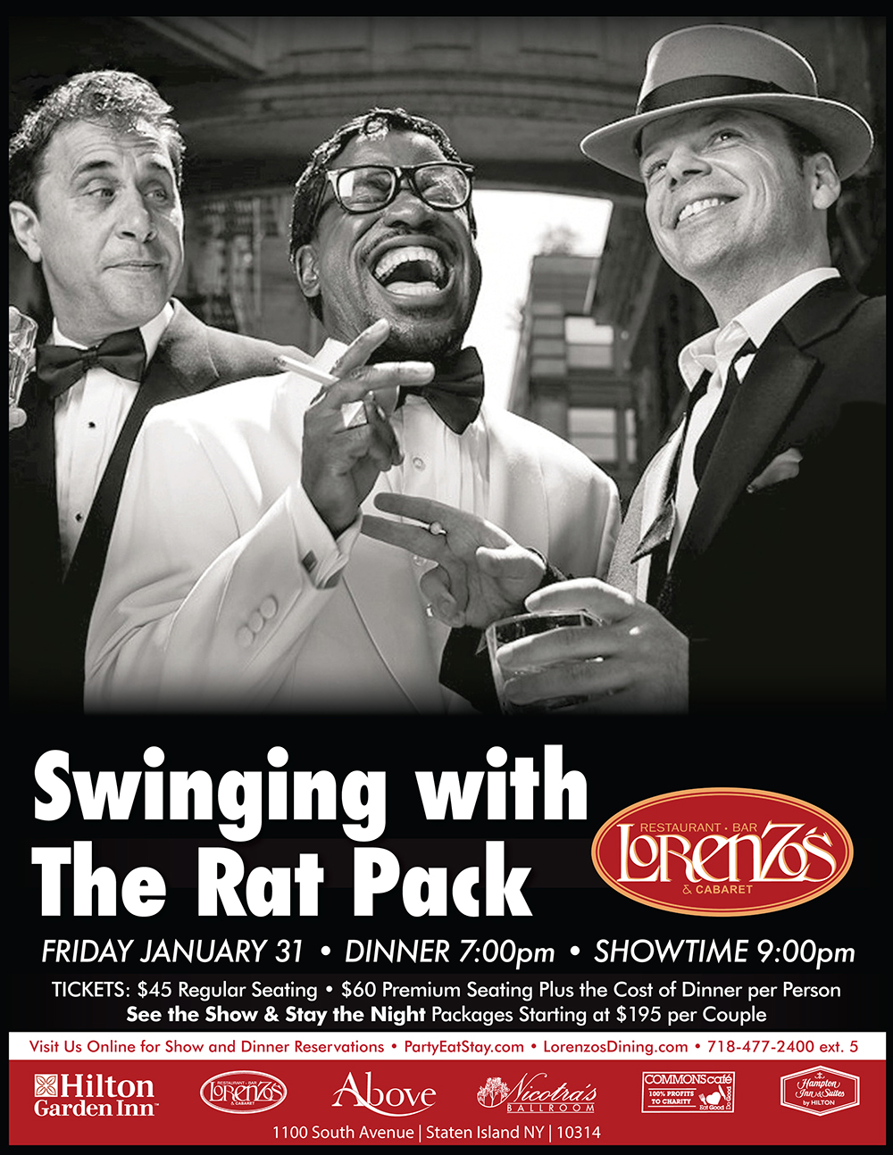 Swingin' With The Rat Pack