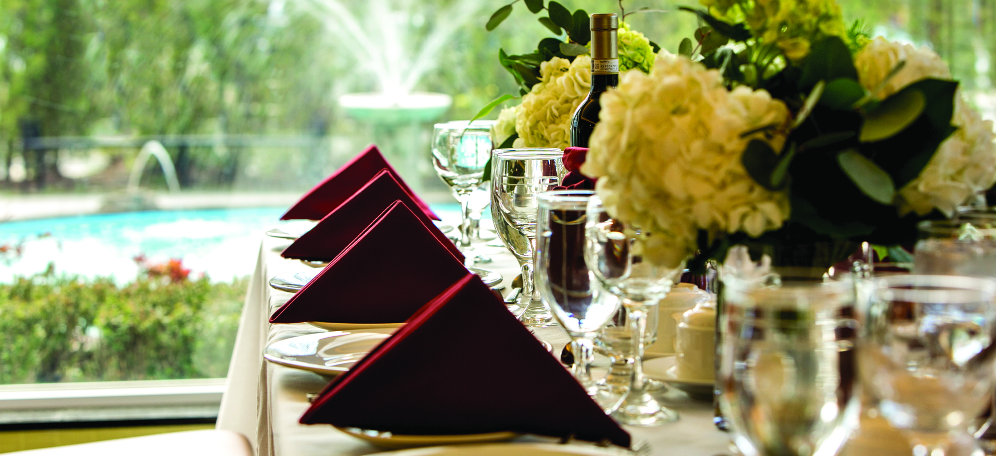 photo of place settings at table