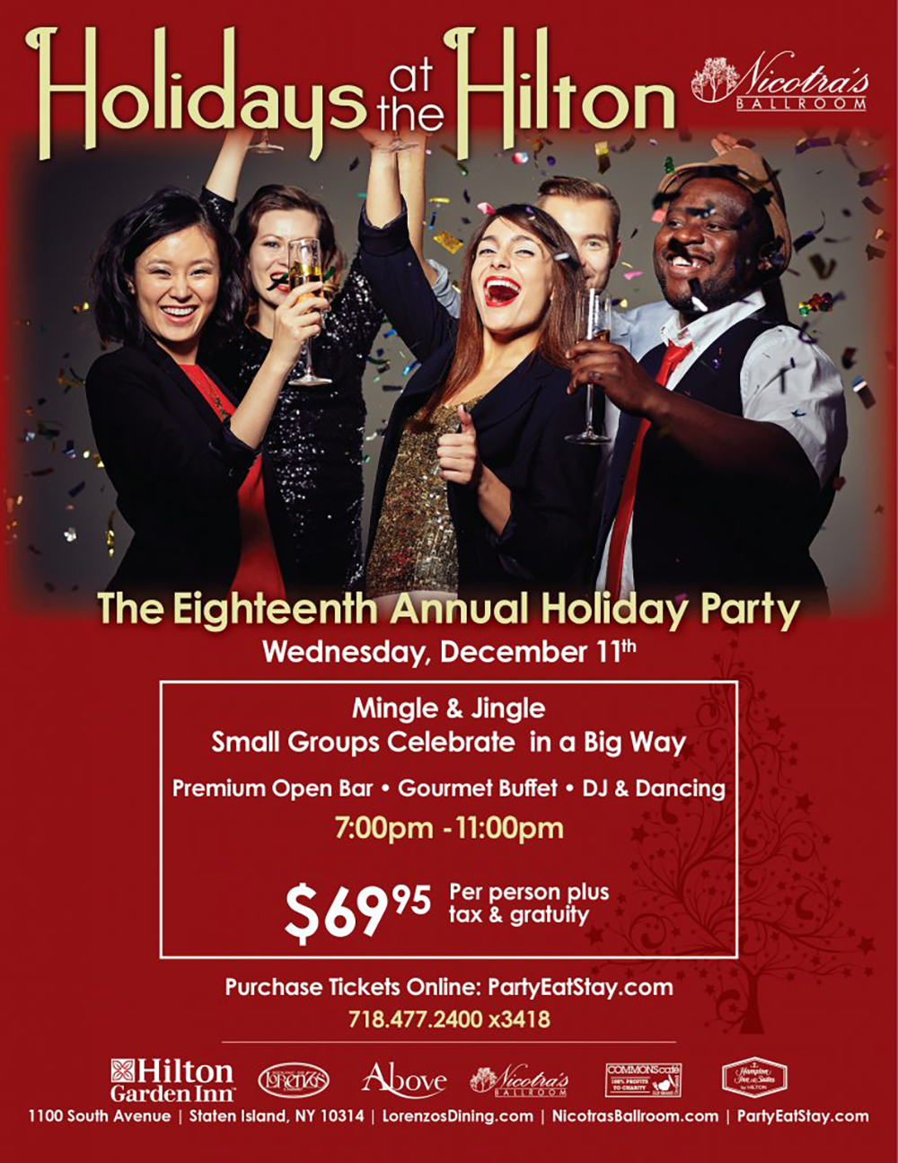 The Eighteenth Annual Holiday Party