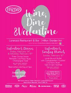 Wine, Dine, & Valentine