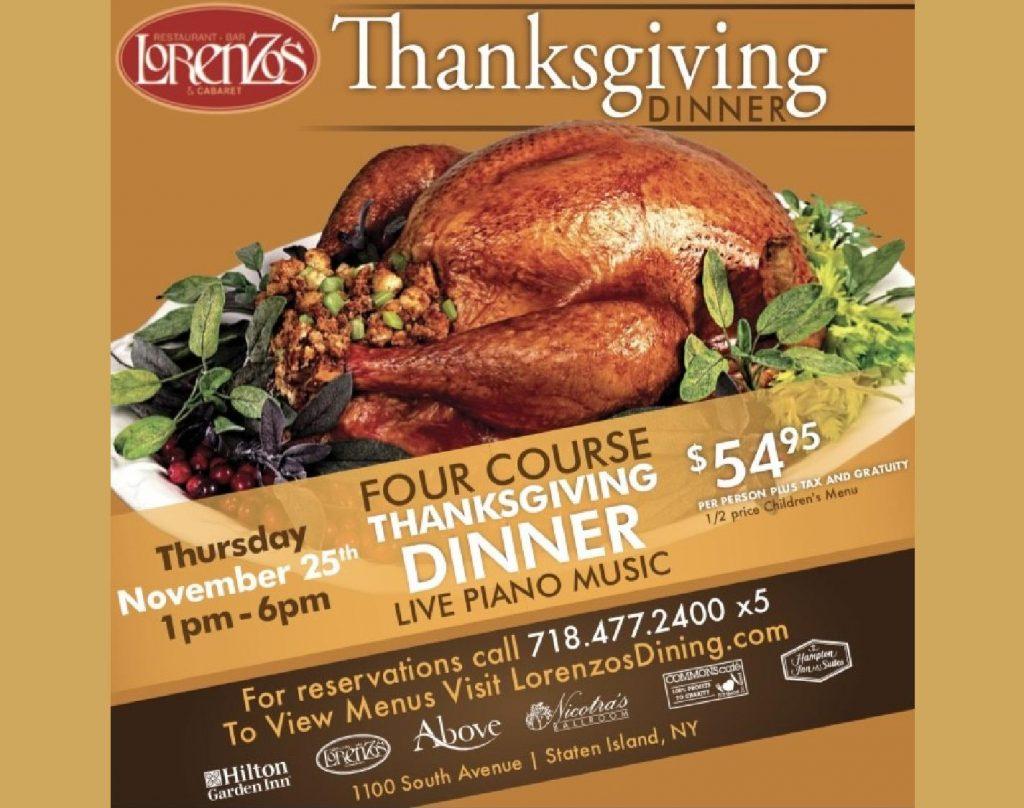 Thanksgiving at Lorenzos